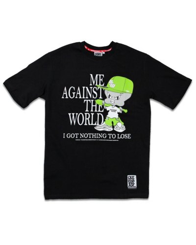 "T-shirt OSW OUTSIDEWEAR ""Against"" czarny"
